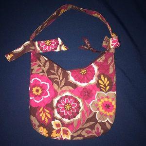 Floral Vera Bradley purse